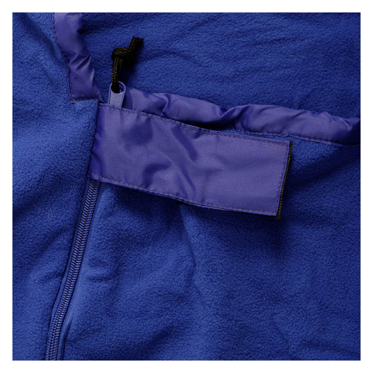 Vložka do spacího pytle mumie, fleece, modrá, Basic Nature