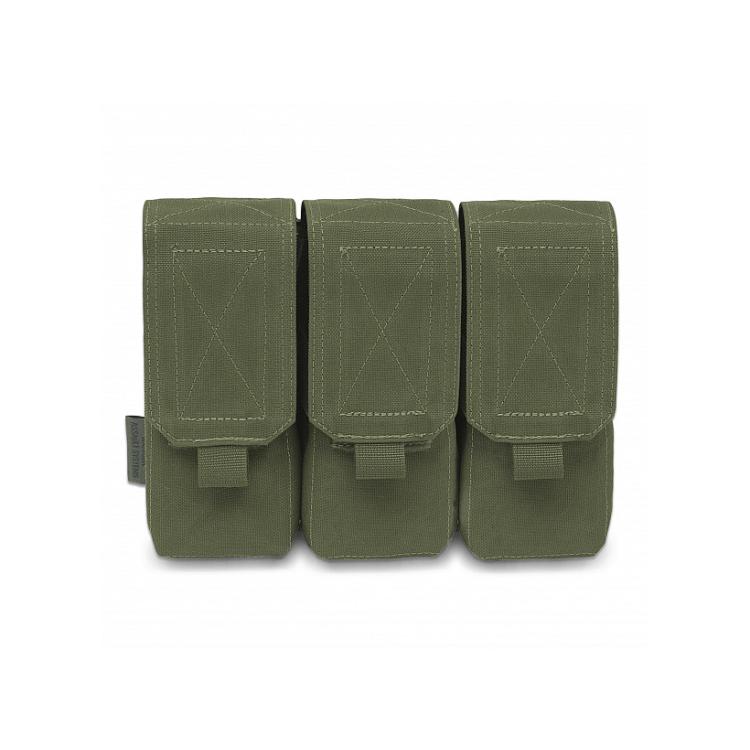 Trojitá sumka na 6 zásobníků 5.56, s chlopní, Warrior - Trojitá sumka na 6 zásobníků 5.56, s chlopní, Warrior