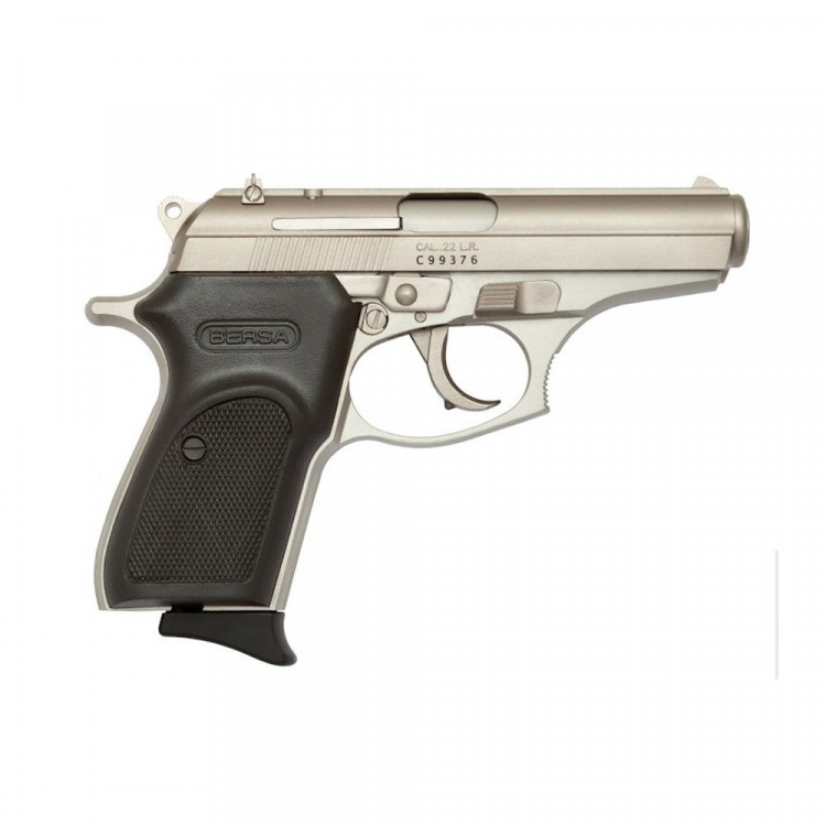Pistole Bersa Thunder 22, ráže 22LR, polymer. grip, nikl