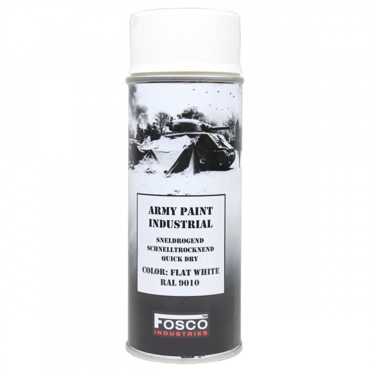 Maskovací barva ve spreji Army Spray 400 ml - bílá