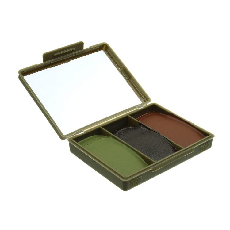Maskovací barvy Chameleon - černá + zelená + hnědá, BCB