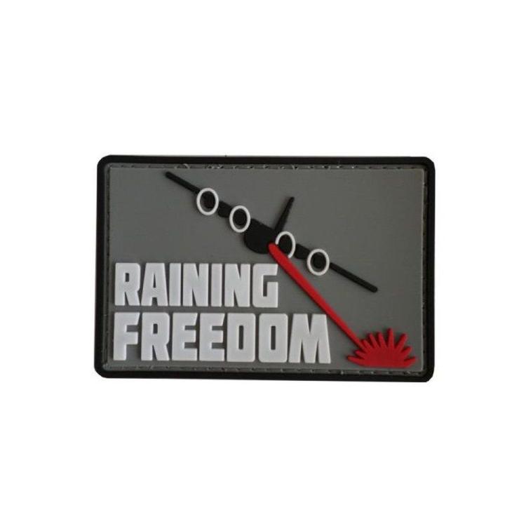 PVC nášivka Raining Freedom