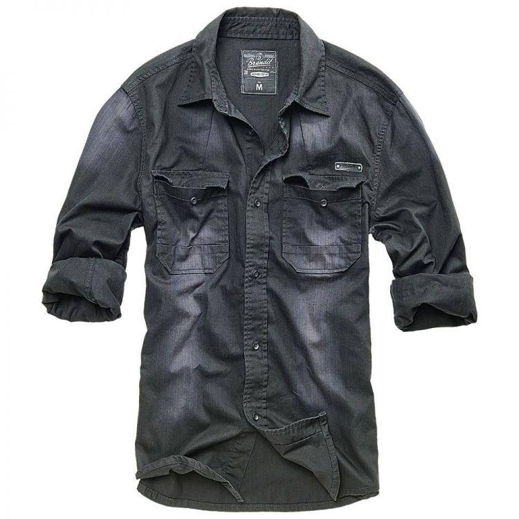 Košile Denimshirt Hardee, Brandit - Košile Brandit Denimshirt Hardee