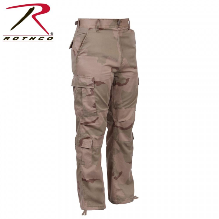 Maskovací kalhoty Vintage Camo Paratrooper Fatigue Pants, Rothco