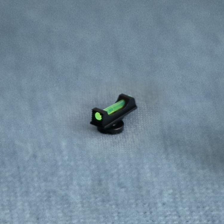 Světlovodná muška Zendl na pistole Walther PPQ, P99, PPS
