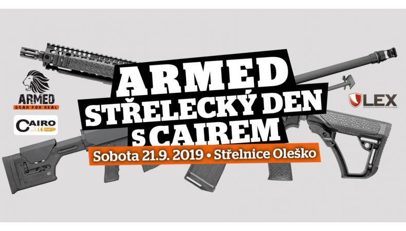 Armed.cz střelecký den s Cairem